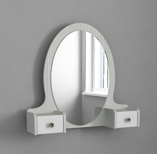 Зеркало 38 попугаев Классика Карамель