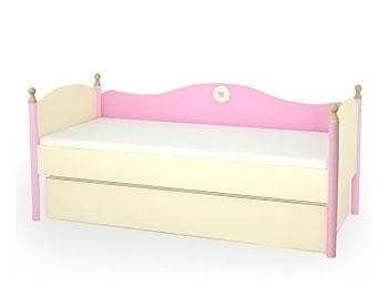 Кровать с подкроватным ящиком Принцесса