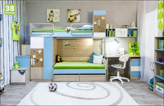 Комплект мебели для детской 38 попугаев Твист 2
