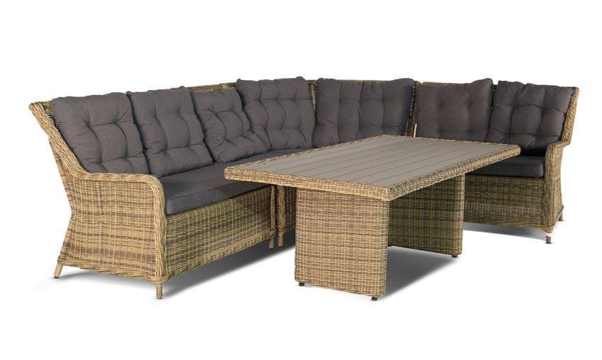 Мебель из искусственного ротанга Кватросис