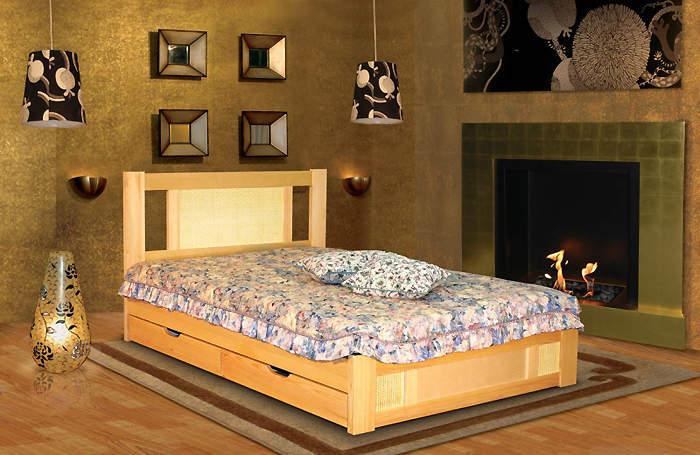 Кровать Альянс XXI век Лион 2 с ящиками