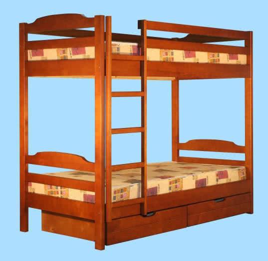 Кровать Альянс XXI век Тандем с ящиками