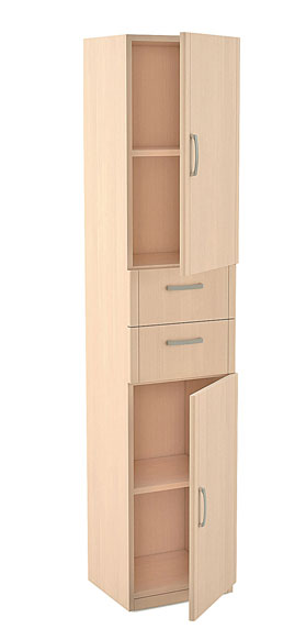 Шкаф с 2-мя ящиками серии Лотос АРТ-5.02