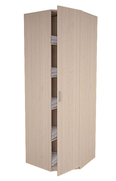 Шкаф для одежды без зеркала серии Лотос АРТ-8.05
