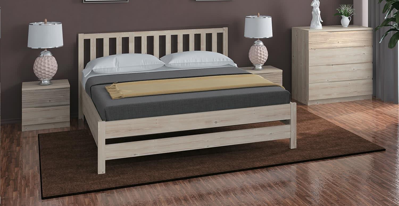 Кровать Боровичи Массив