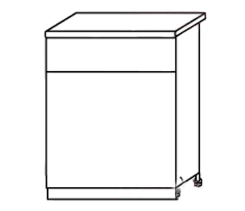 Стол с ящиком АРТ: СН96