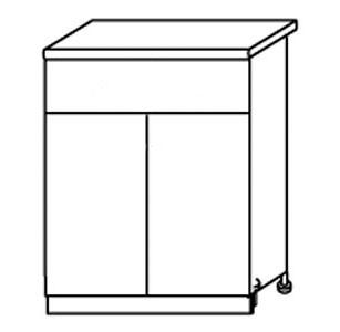 Стол с ящиками АРТ: СН68