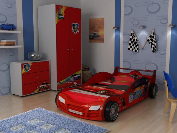 Кровать-машина R800 с подсветкой Грифон Стайл