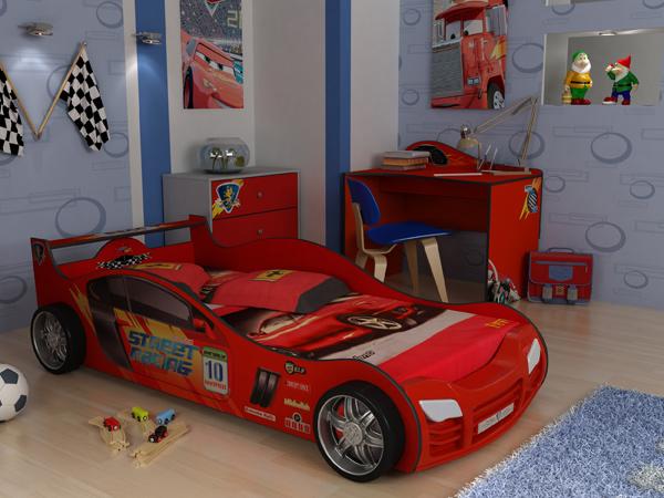 Кроватка машинка - мечта Вашего ребенка в Казани |