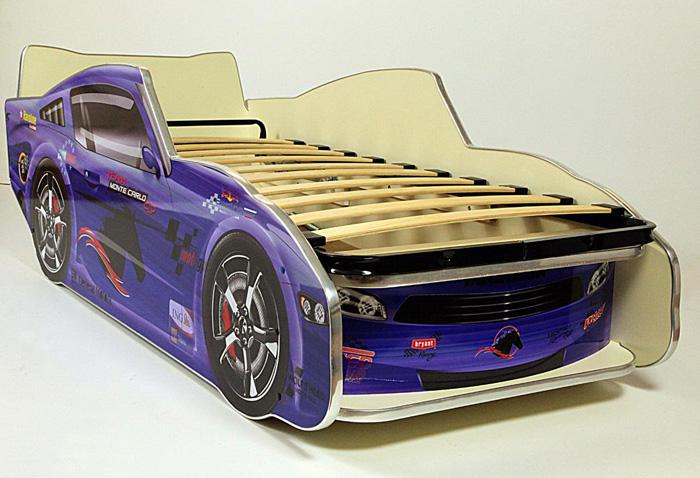 Кровать-машинка Молния Мустанг 170