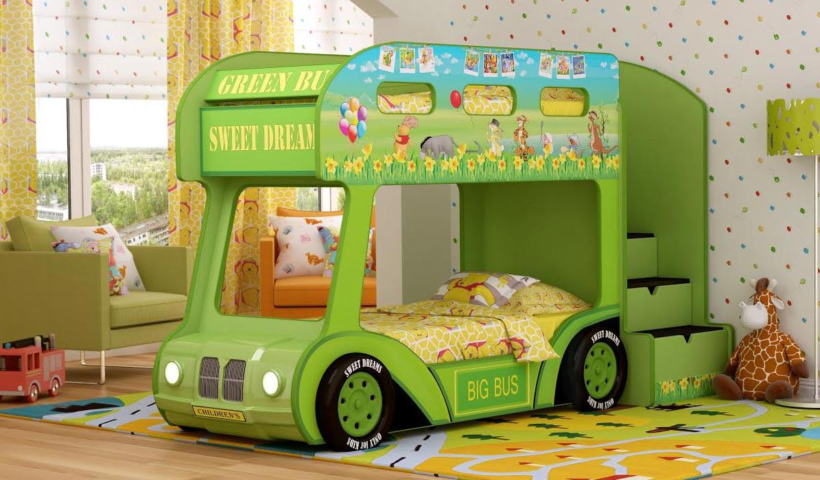 Кровать-автобус Red River Люкс
