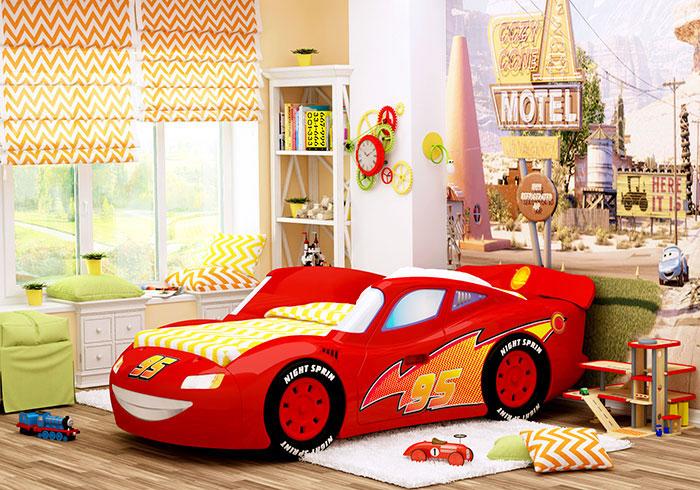 Кровать-машина Тачки
