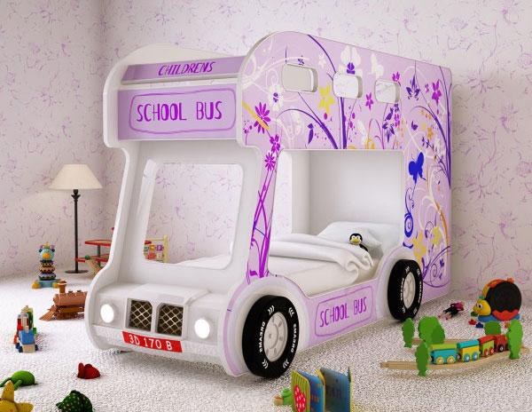 Кровать-автобус Red River Настроение
