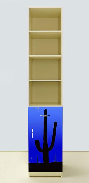 Пенал Мустанг синий