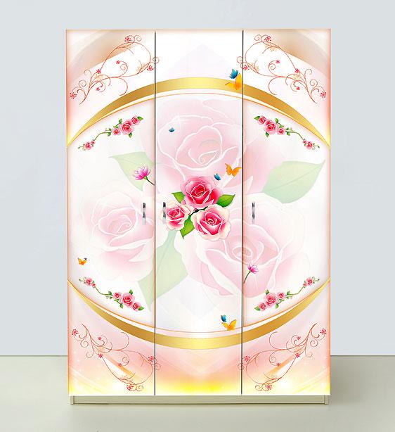 Шкаф 3х дверный Золушка