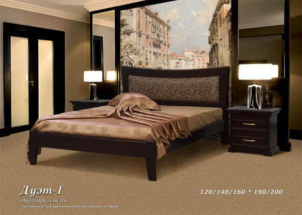 Кровать Фокин Дуэт 1