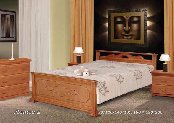 Кровать Фокин Лотос 2