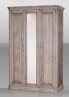 Шкаф Фокин распашной с пилястрами 3 створки