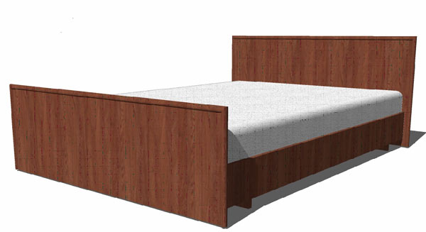 Кровать 120 Даша без матраца ГРОС, КРС-27