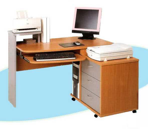 Компьютерный стол ГРОС КСК-2 (правый)