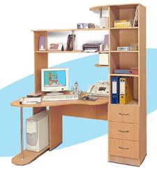 Компьютерный стол ГРОС СК-1 (левый)