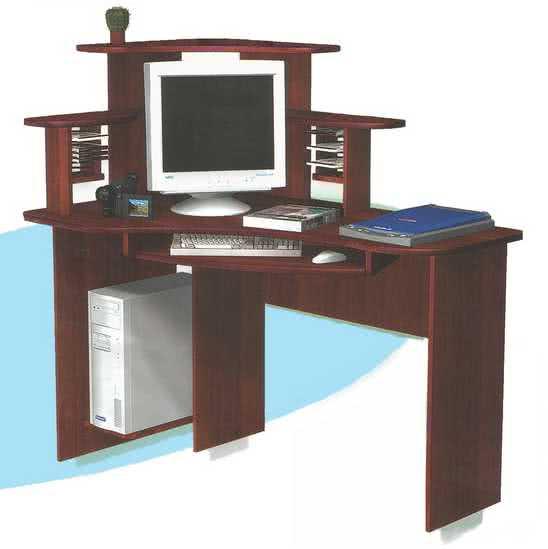 Компьютерный стол ГРОС СКУ-3 (левый)