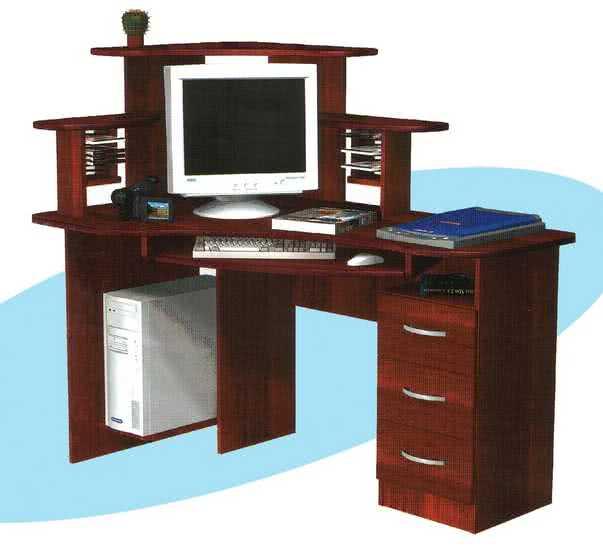 Ску 4 левый компьютерный стол угловой