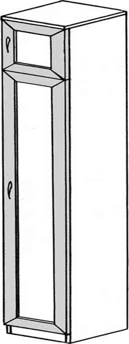 Пенал ГРОС серии Алена ПМ 5 (рамка)