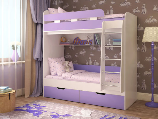 Кровать двухъярусная Ярофф Юниор 5