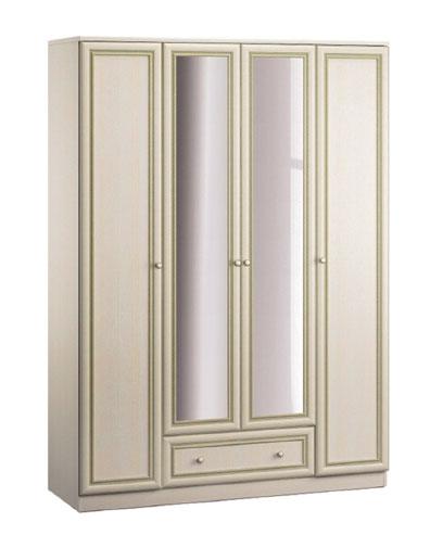 Шкаф четырехдверный Столплит Грация, СБ-2198