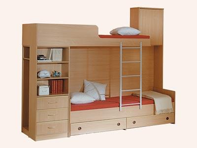 Кровать 2-х ярусная Симба СH-13