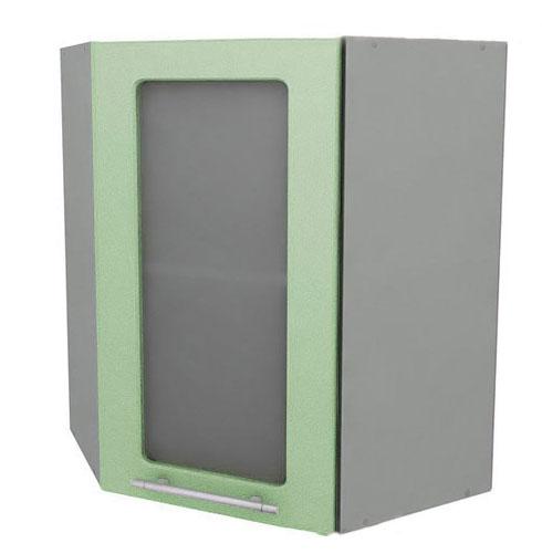 Полка угловая Анна с витриной, АПУ-60 + ФВ-40