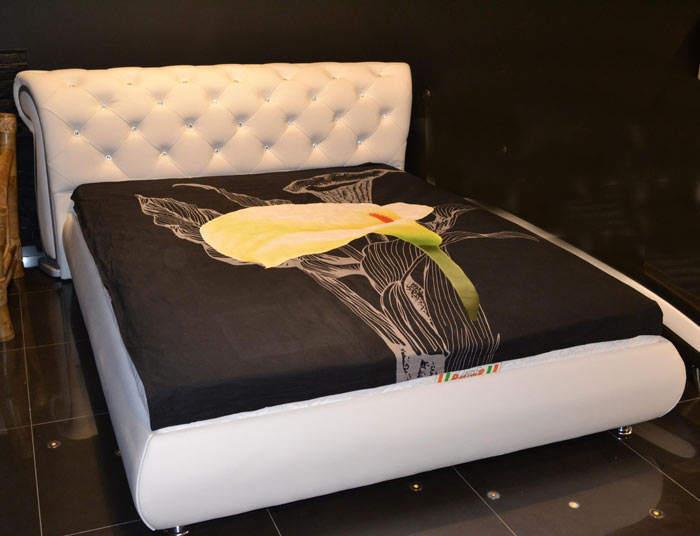 Кровать Татами арт. 1031 со стразами