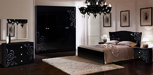 Спальня Ярцево Европа-9 черный