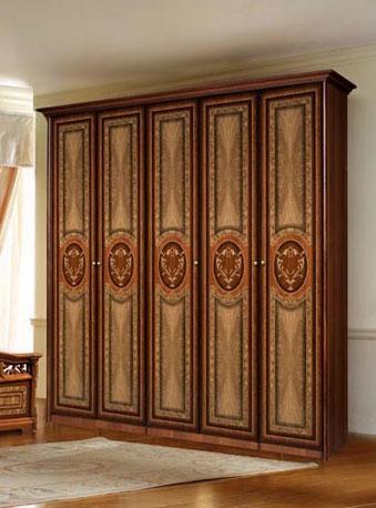 5-ти дверный шкаф Карина - 1 без зеркал