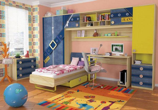 Набор мебели для детской Любимый дом  Джинс №2