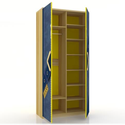 Шкаф двустворчатый Любимый дом Джинс, ЛД 507.010