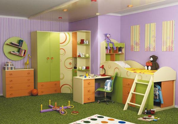 Комплект мебели для детской Фруттис №1
