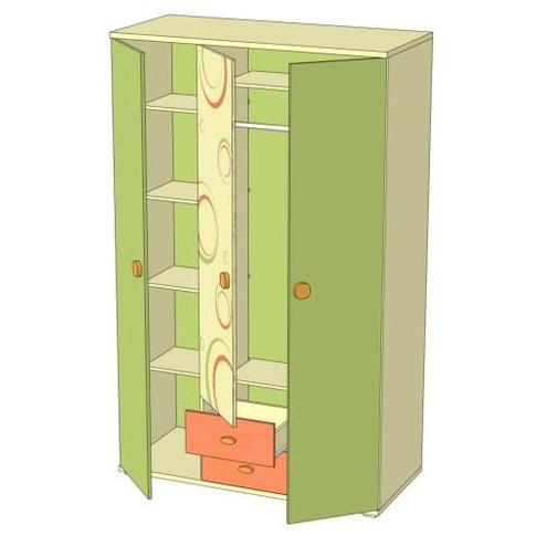 Шкаф трёхстворчатый Любимый дом Фруттис, ЛД 503.040