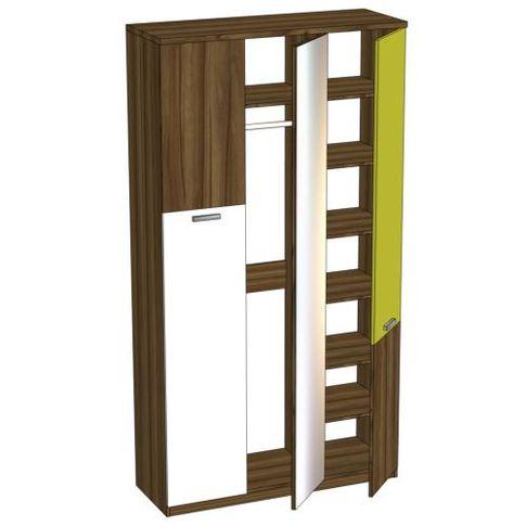 Шкаф трёхстворчатый с зеркалом Любимый дом Модекс, ЛД 505.060