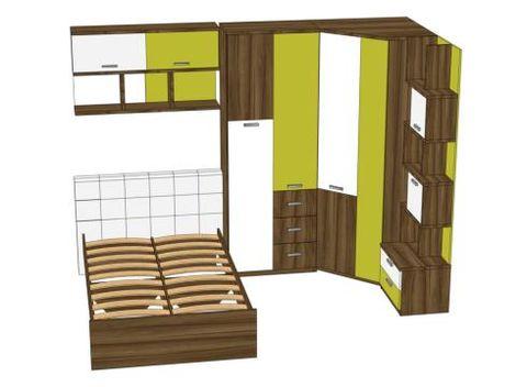 Комплект мебели для детской Модекс №4