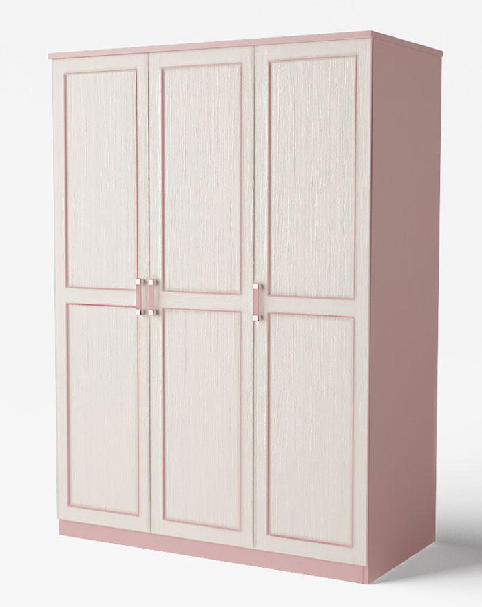 Шкаф Аква Родос Voyage 1 (розовый)
