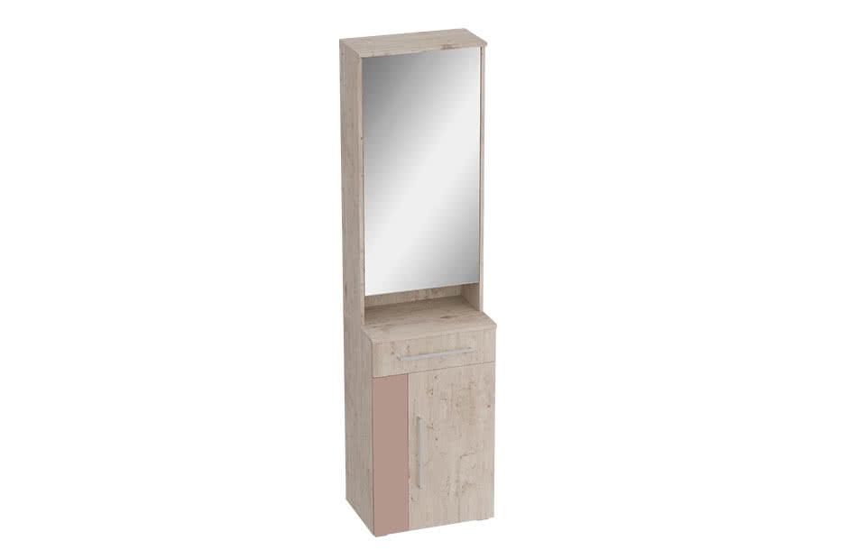 Тумба МебельГрад Фан с зеркалом