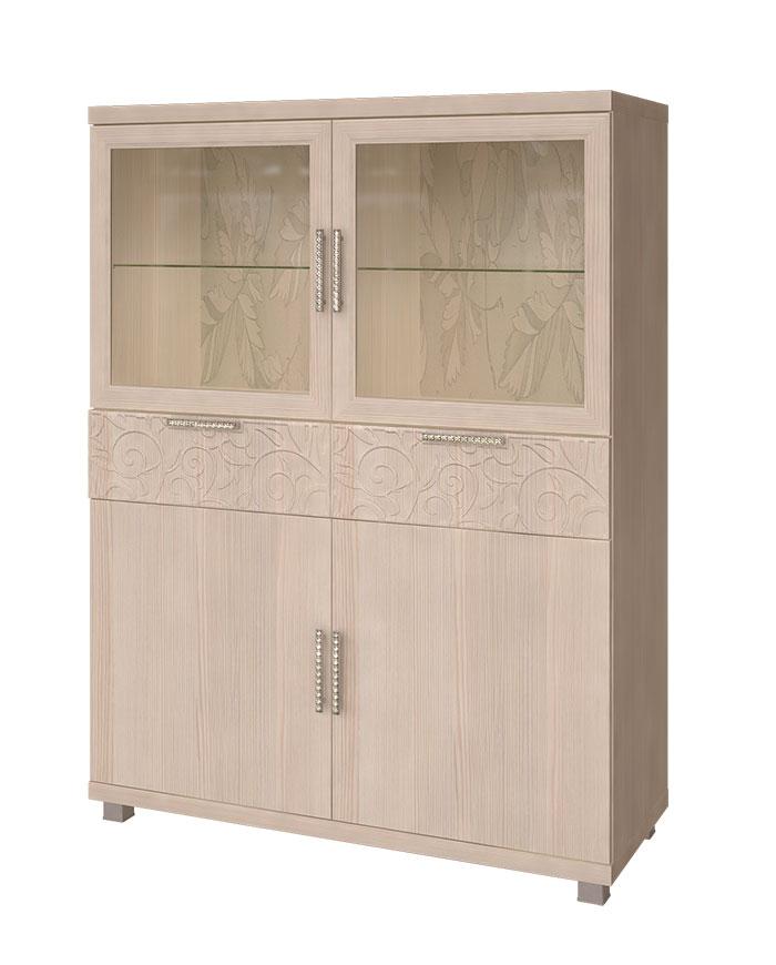 Шкаф комбинированный Арника Ирис, мод. 25