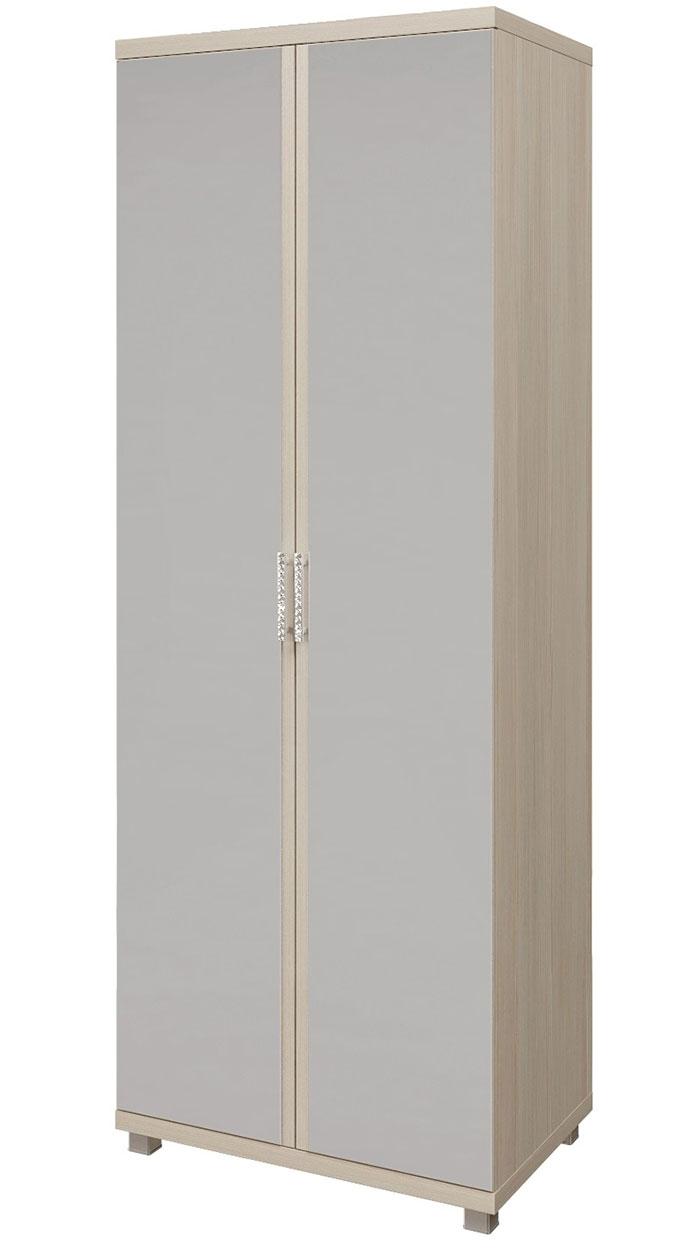 Шкаф 2х дверный с зеркалом для одежды Арника Ирис, мод. 10