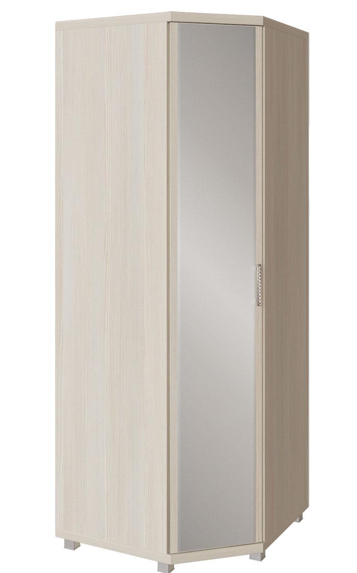 Шкаф угловой  с зеркалом Арника Ирис, мод. 21