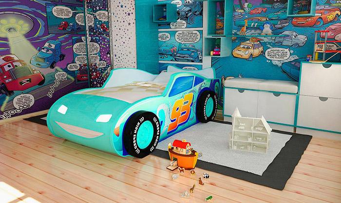 Детская кровать Молния