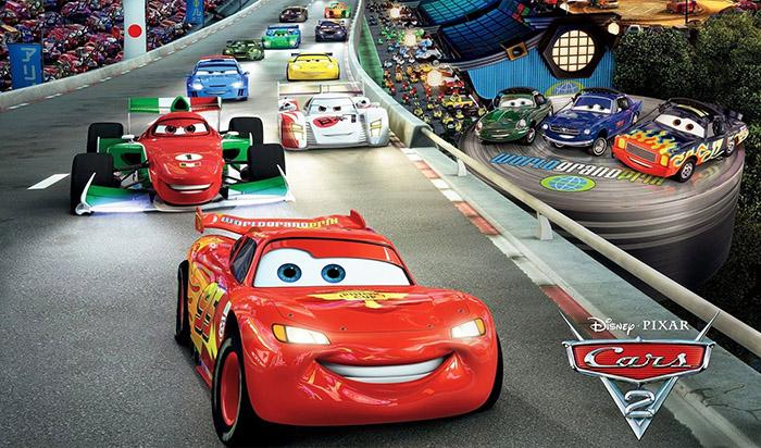 Тачки (Cars) и Молния Маккуин (McQueen)