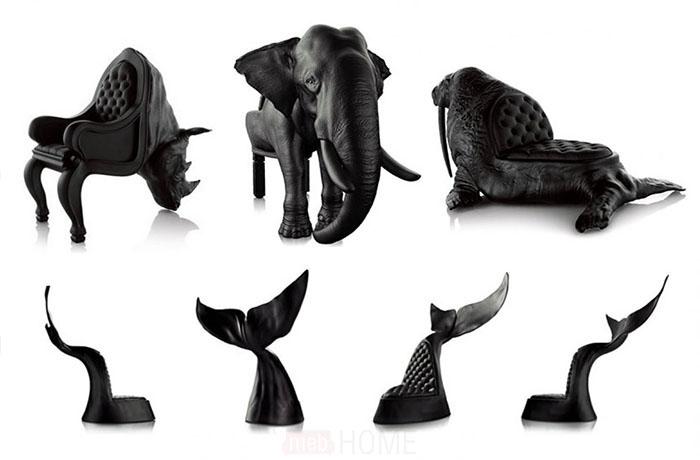 Кресла в виде животных