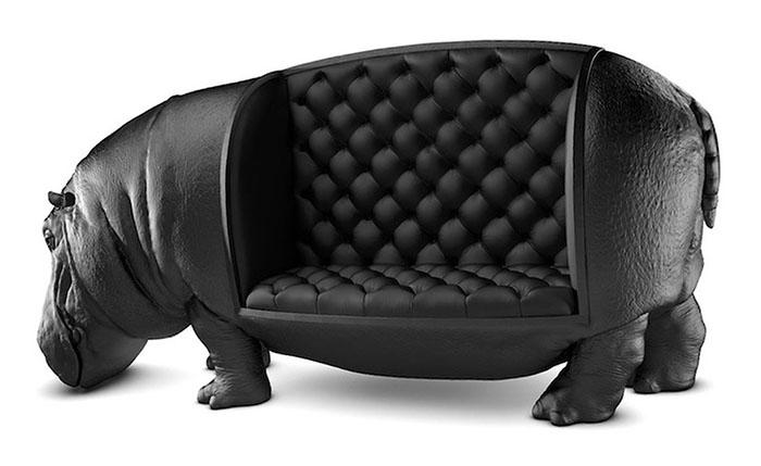 диван-бегемот